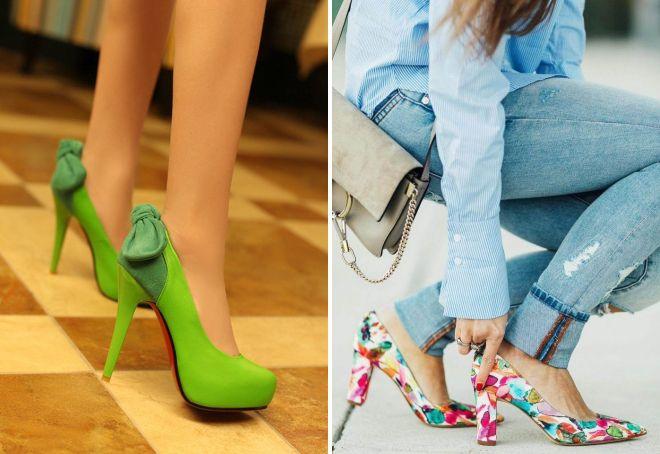как выбрать туфли лодочки