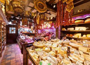 Популярный сырный магазин Diksmuids Boterhuis