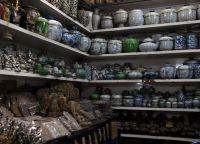 Посуда на Русском рынке в Пномпене