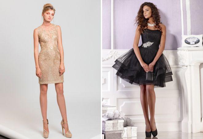 короткие коктейльные платья 2017