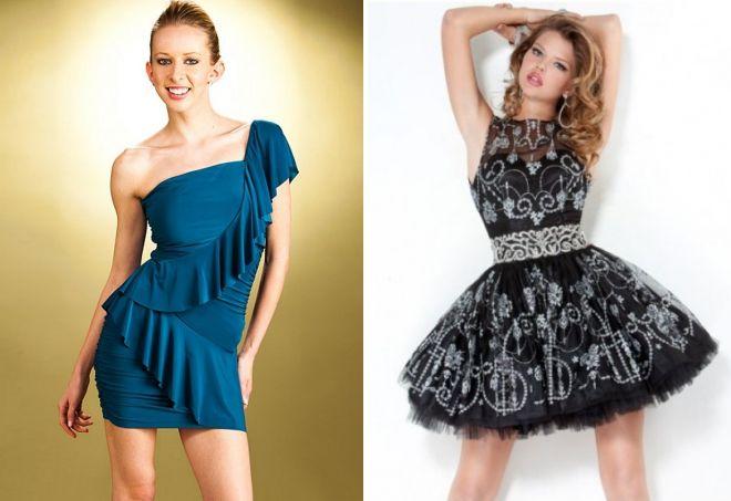 короткие платья в моде 2017