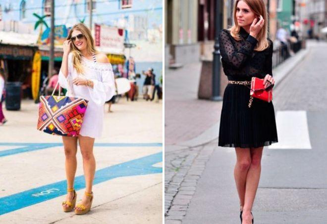 короткие платья лето 2017
