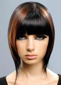 Женска фризура за округло лице 2