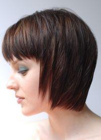 Женска фризура за округло лице 4