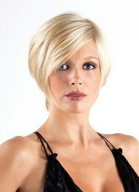 Женска фризура за округло лице 5