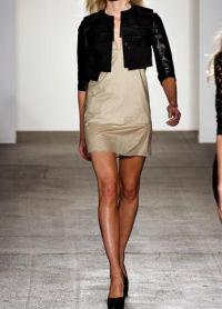 ženska kratka kožna jakna 9