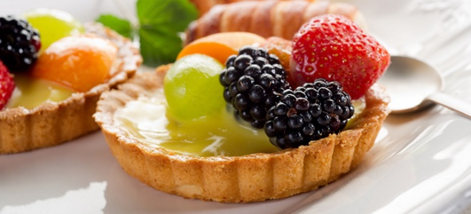 сендвич корпе са воћем у желе