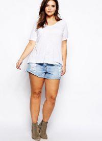 шорти за затлъстели жени1