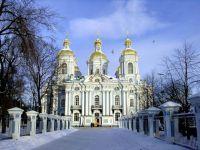 Zabytki Petersburga w zimie1