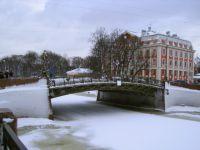 Zabytki Petersburga w zimie3