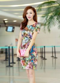 jedwabna sukienka 2013 5