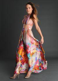 jedwabna sukienka 2013 9