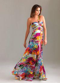 sukienki z jedwabiu 2015 6
