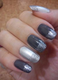 srebrny manicure1