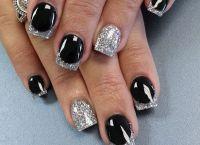 srebrny manicure 2