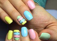 srebrny manicure 5