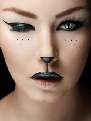 Simple Makeup Halloween 11