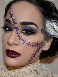Jednoduchý make-up pro Halloween 14