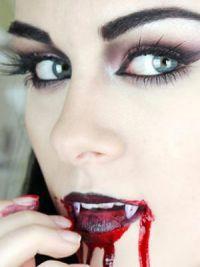 Halloween jednoduchý makeup 2