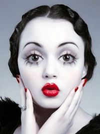 Jednoduchý make-up pro Halloween 3
