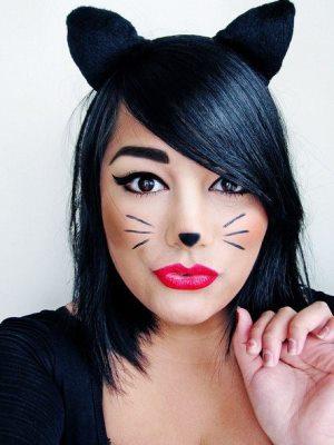 Simple Makeup Halloween 6