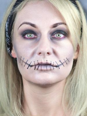 Halloween Simple Makeup 7