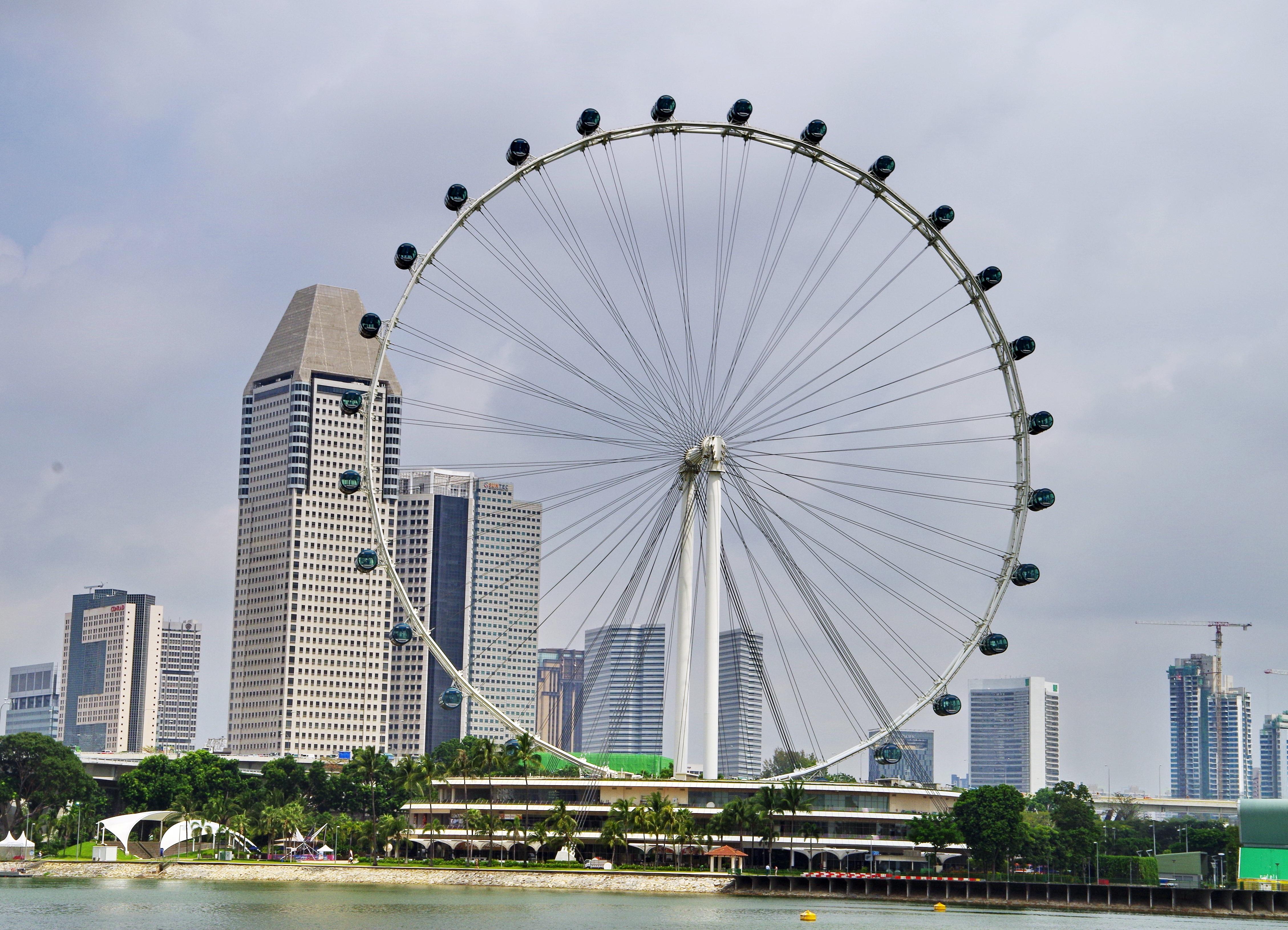 33ec9bba61d Сингапурско фериботно колело, Сингапур - Сингапур