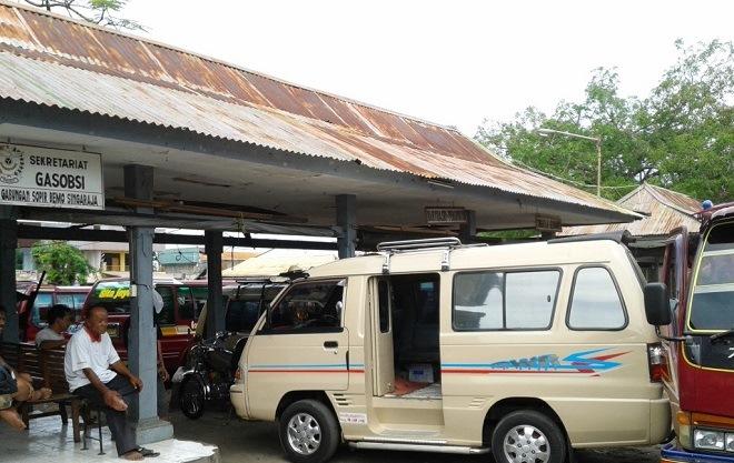 Автобусный терминал в Сингарадже