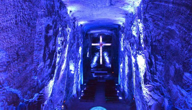 Центральный неф соляного собора Сипакиры