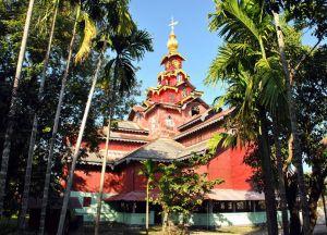 Один из храмов в Ситуэ
