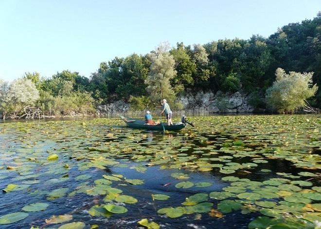 Прогулка по озеру