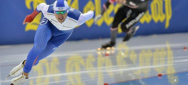 zawody w łyżwiarstwie szybkim
