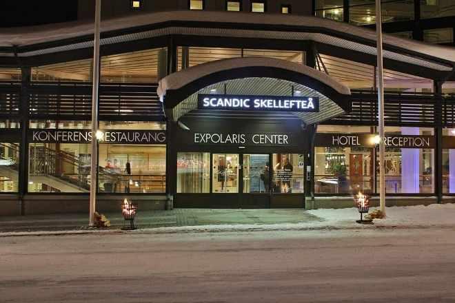 Отель Hotell Scandic Skellefteå