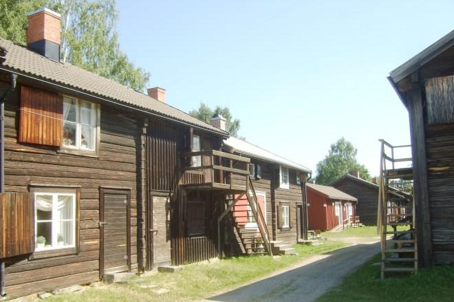 Музей под открытым небом Bonnstan Skellefteå