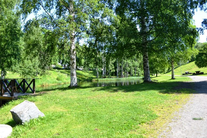 Парк в Шеллефтео