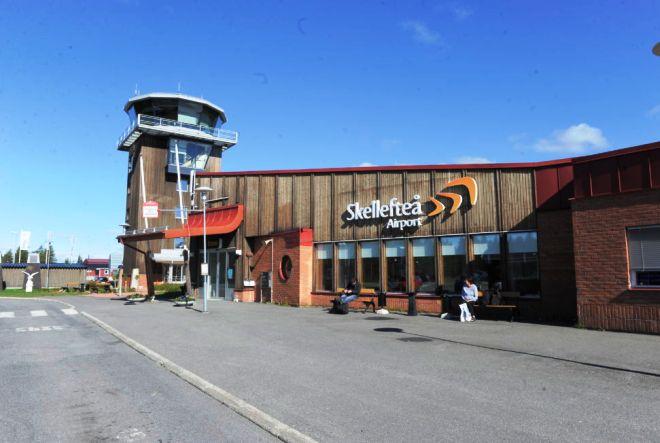 Аэропорт в Шеллефтео