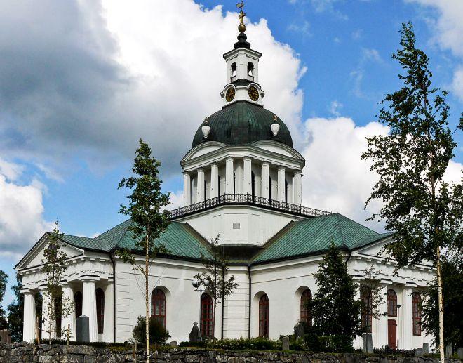 Церковь Landsförsamlingens kyrka