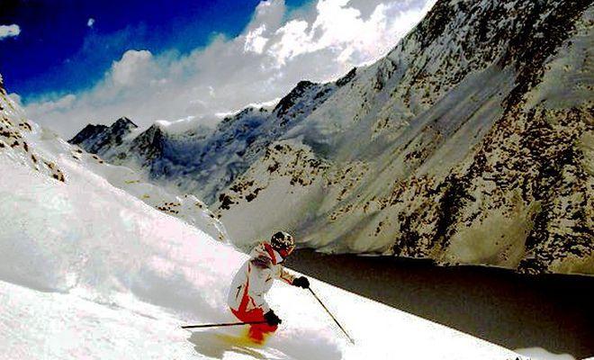 Курорт Чапа-Верде - излюбленное место профессиональных горнолыжников