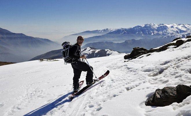 Популярное место для любителей зимних видов спорта