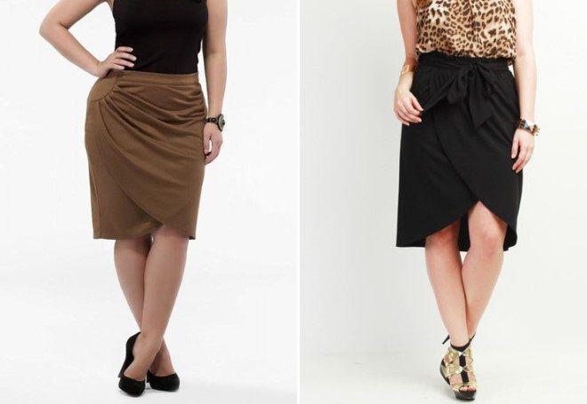 styly sukní pro obézní ženy