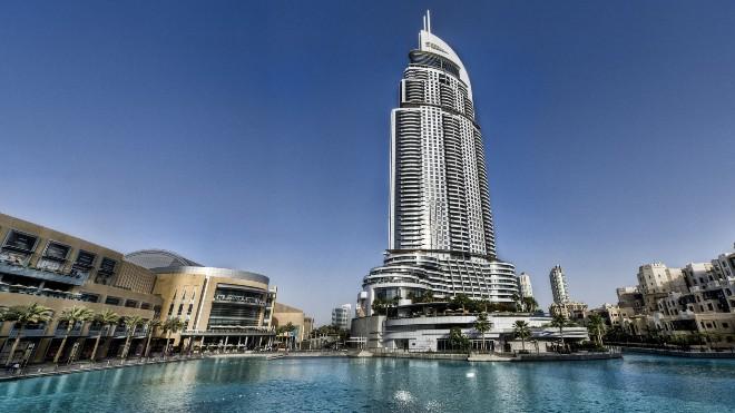 Небоскреб Адрес Даунтаун Бурдж Дубай