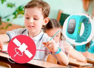 inteligentny zegar dziecięcy z nawigacją GPS 2