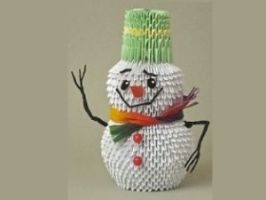 Snežak iz modulov22