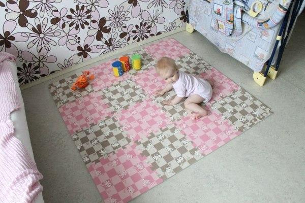 Miękkie puzzle podłogowe
