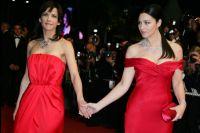 Софи Марсо и Моника Белуччи на Каннском фестивале