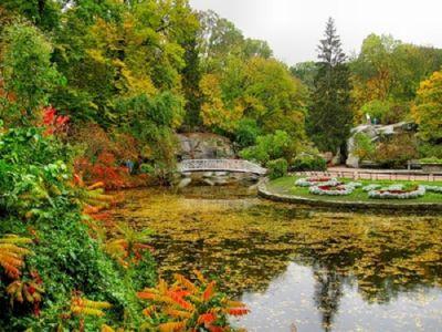 София парк през есента