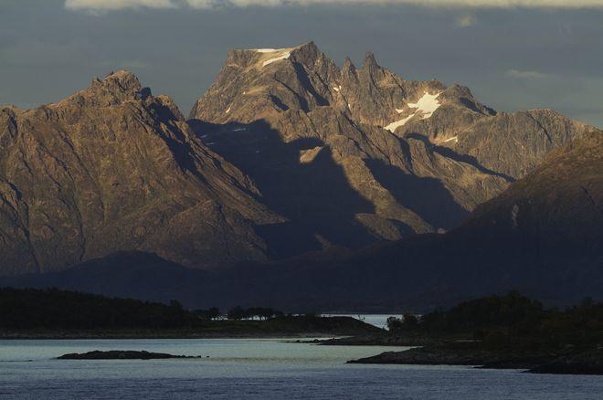 Гора Мойсален, вокруг которой разбит одноименный национальный парк