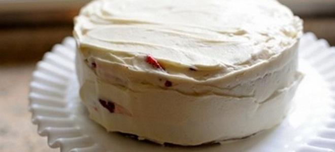 Павлака са желатином за торту - рецепт