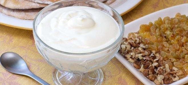 vrhnje krema od jogurta