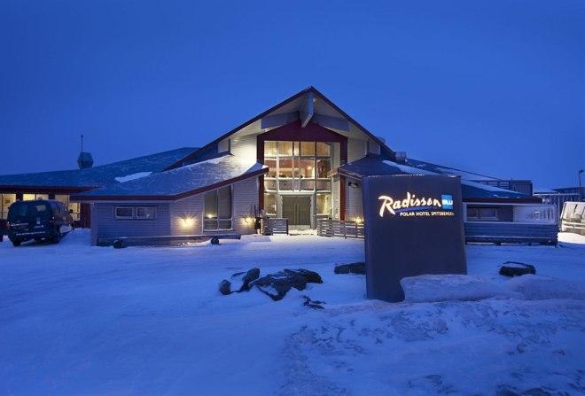 Отель Radisson Blu Polar Hotel